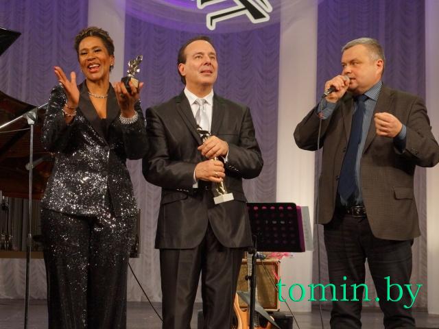 Лориан Браун, Гарри Гутман и Олег Ровдо. Фото Тамары ТИБОРОВСКОЙ