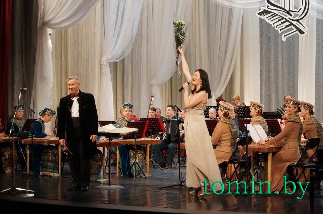 Национальный академический народный оркестр им. Иосифа Жиновича. Фото Тамары ТИБОРОВСКОЙ