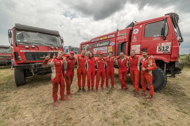 Команда «МАЗ-СПОРТавто» завоевала «серебро» на «Дакар-2018» - фото