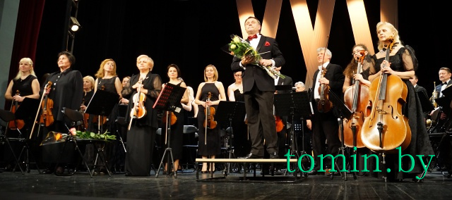 Симфоническому оркестру Брестского драмтеатра – 25 лет. Фото Тамары ТИБОРОВСКОЙ
