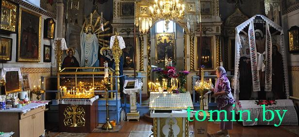 Спасо-Преображенская церковь, построенная князем Шуйским в д. Теребень Брестского района - фото