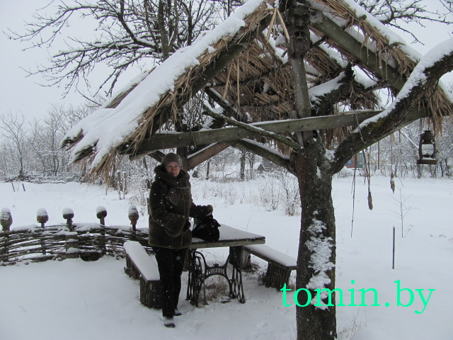 Деревня Соболи, Березовский район. Сабалеўскі маёнтак - фото