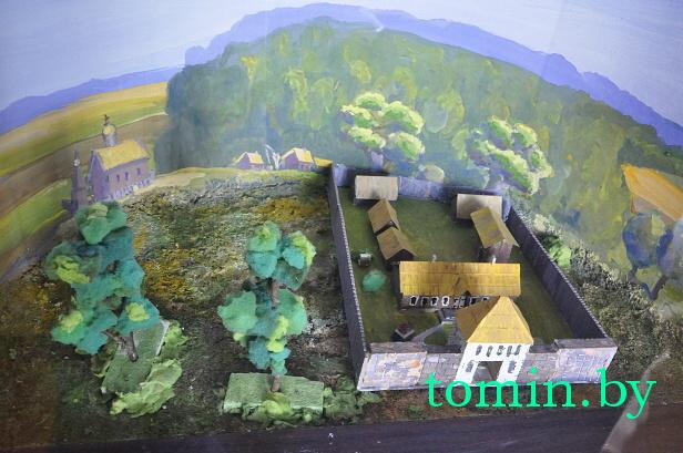 Макет усадьбы рода Достоевских в д. Достоево Ивановского района - фото