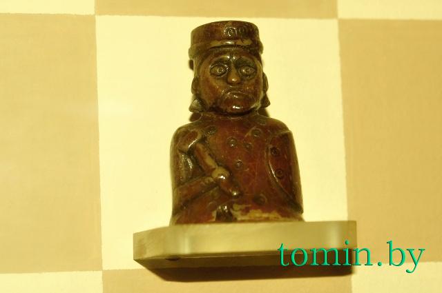Археологический музей «Берестье». Шахматный король. Фото Тамары ТИБОРОВСКОЙ